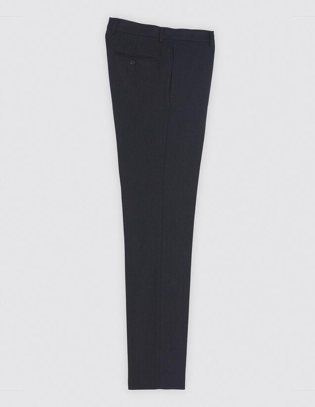 산드로 SANDRO Navy Pantalon de costume,Marine