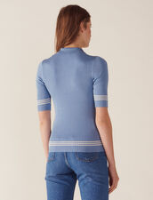 Pull Esprit Polo : Sélection Last Chance couleur Bleu jean
