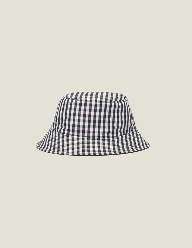 Bob Réversible En Coton : Casquettes couleur Noir/Blanc