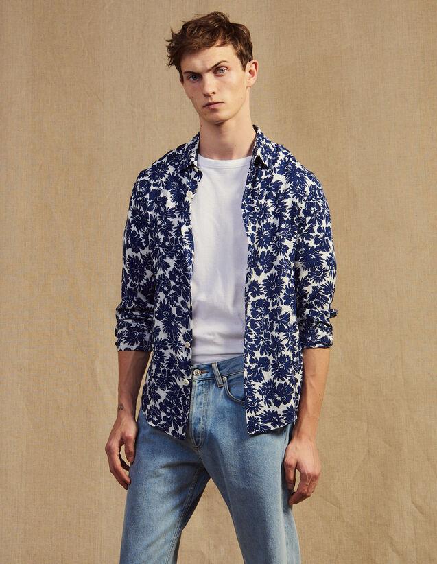 faabdb2909 Chemises pour Homme - la collection de Chemises | Sandro Homme Paris