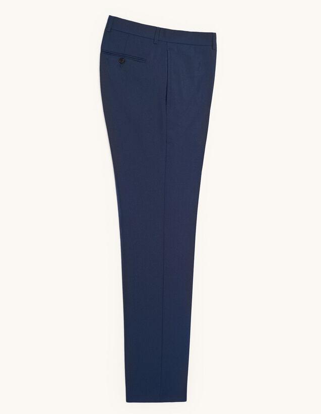 Pantalon de costume en laine froide : Costumes & Smokings couleur Bleu