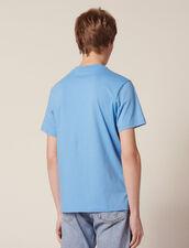 T-Shirt Avec Patch À Messages : Sélection Last Chance couleur blanc