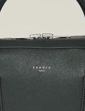 Briefcase En Cuir Saffiano : Collection Été couleur Vert