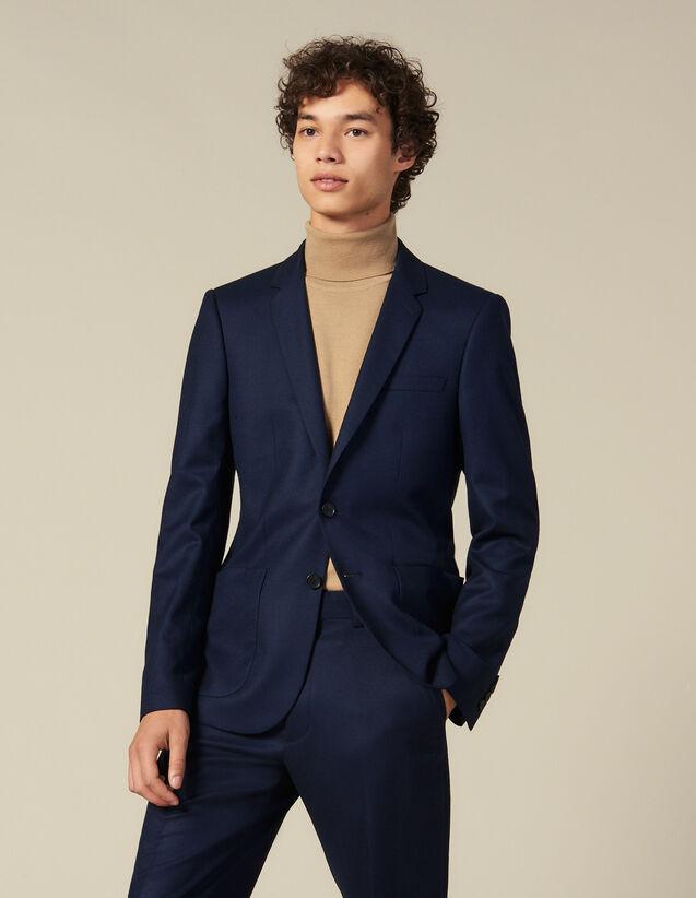 Veste de costume en laine : Costumes & Smokings couleur Marine