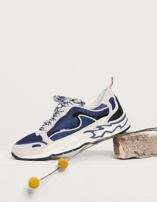 Baskets Flame : Toutes les Chaussures couleur Deep Navy