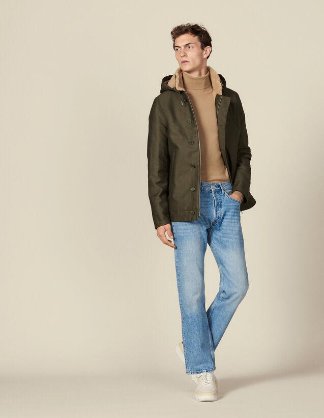 Parka Deck Jacket : Trenchs & Manteaux couleur Kaki