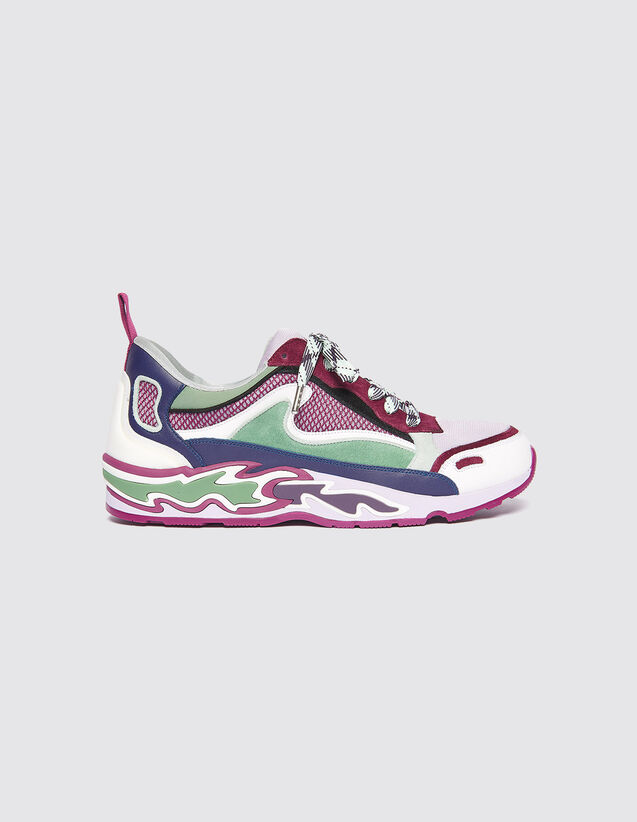 Baskets Flame : Toutes les Chaussures couleur Violet