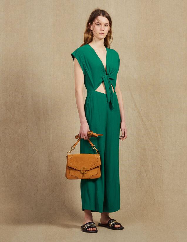 Combinaison Pantalon Avec Top Noué : Combinaisons couleur Vert
