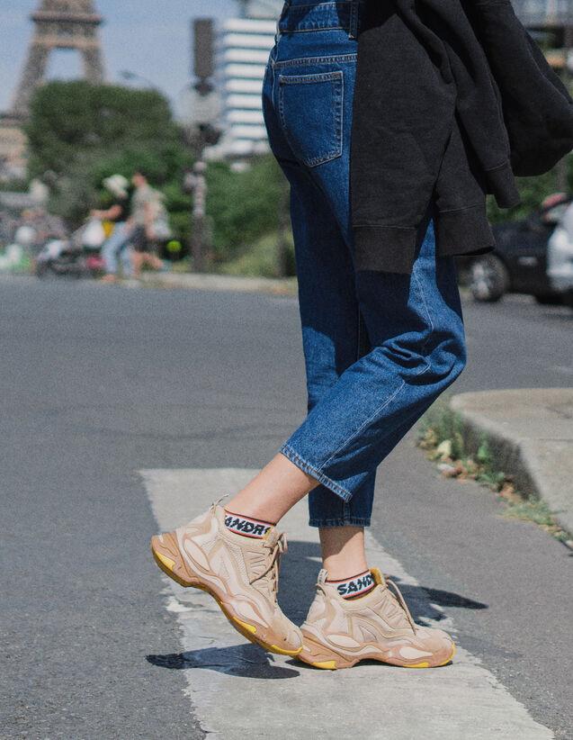 fc43b42124b2 Baskets à semelle graphique   Toutes les Chaussures couleur Camel