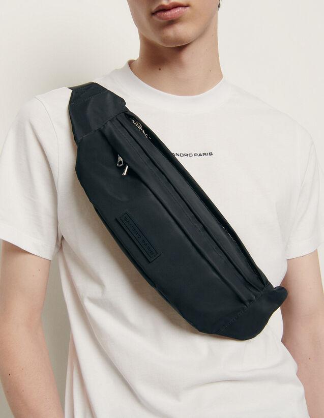 Grand sac banane cross-body : Nouveautés couleur Noir