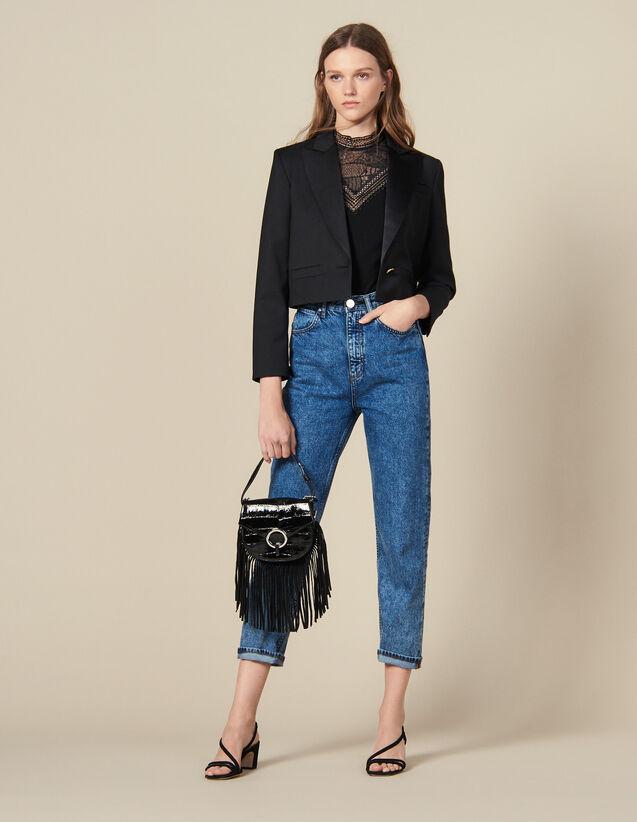 Blazer Court : Blousons & Manteaux couleur Noir