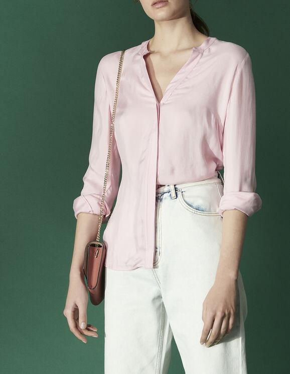 Chemise avec découpe et nœud au dos : Toute la sélection couleur Ecru
