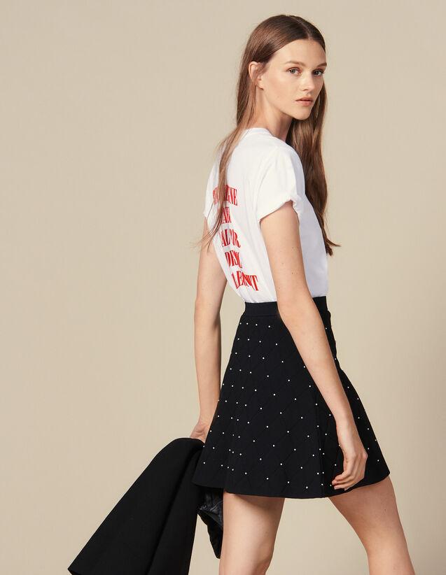 2c84cd8154bf6 Jupes & Shorts pour Femme - la collection de Jupes & Shorts | Sandro ...