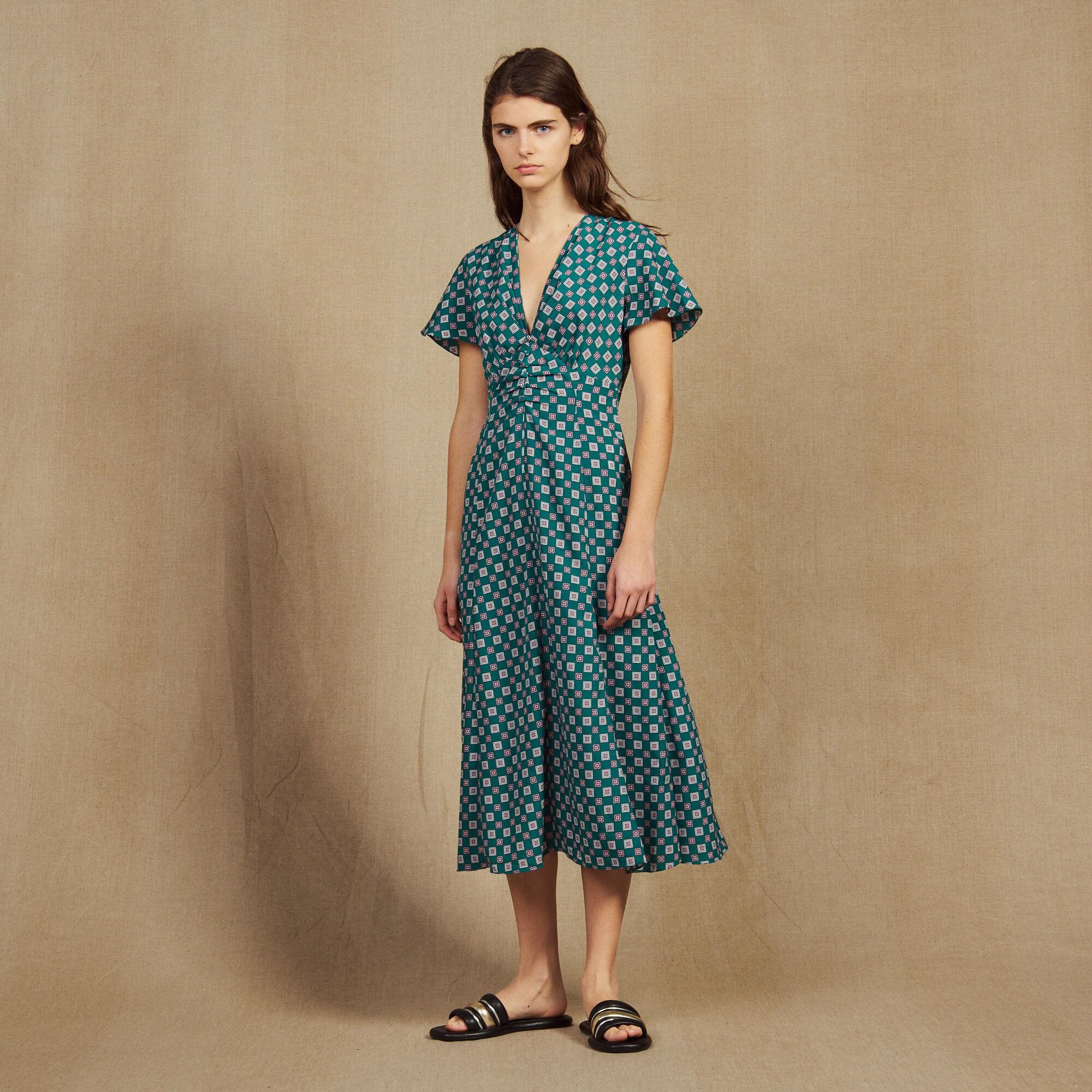 La Pour Collection Découvrir À De Robes Paris Soldes Sandro XZwTPikuO