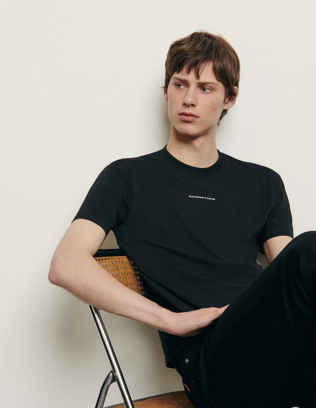t-shirt homme sandro