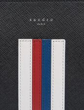 Porte -Document Avec Lignes Colorées : SOLDES-CH-HSelection-PAP&ACCESS-2DEM couleur Noir