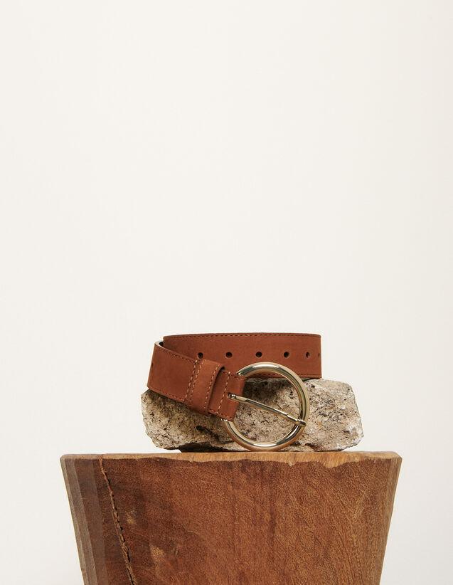 Ceinture en cuir : Toute la collection Hiver couleur Marine Foncé