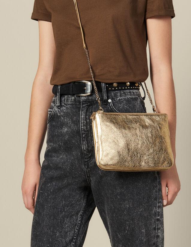 Pochette Addict : Tous les Sacs couleur Full Gold