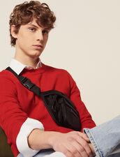 Pull Fin En Point Fantaisie : Pulls & Cardigans couleur Rouge
