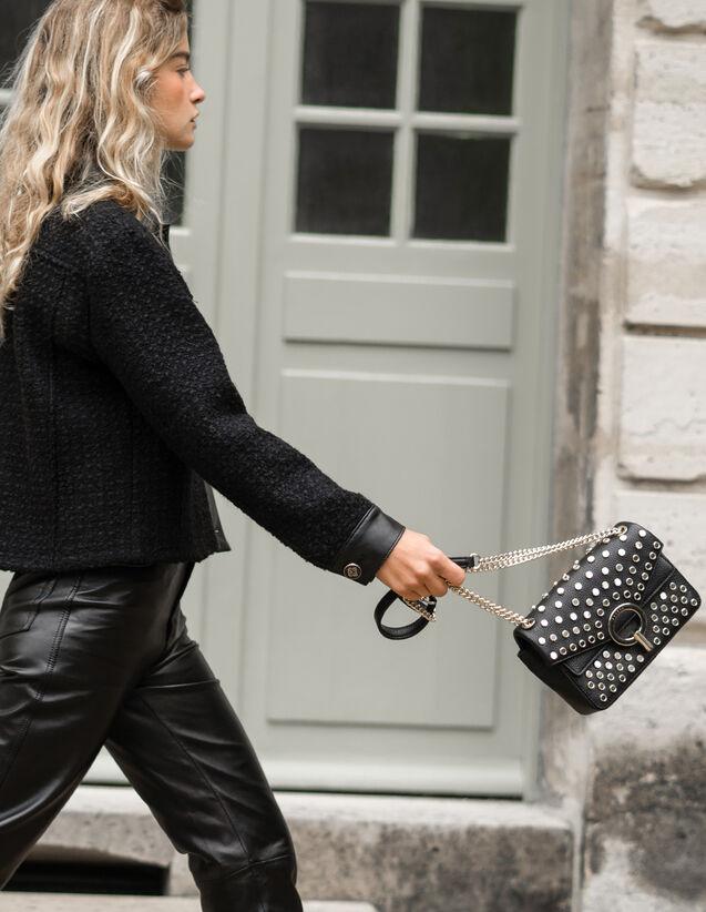 Sac Yza petit modèle avec studs : Tous les Sacs couleur Noir