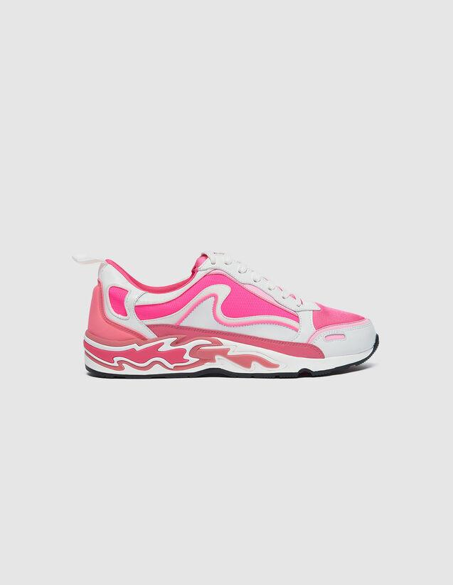 Baskets Flame : Toutes les Chaussures couleur Rose Fluo