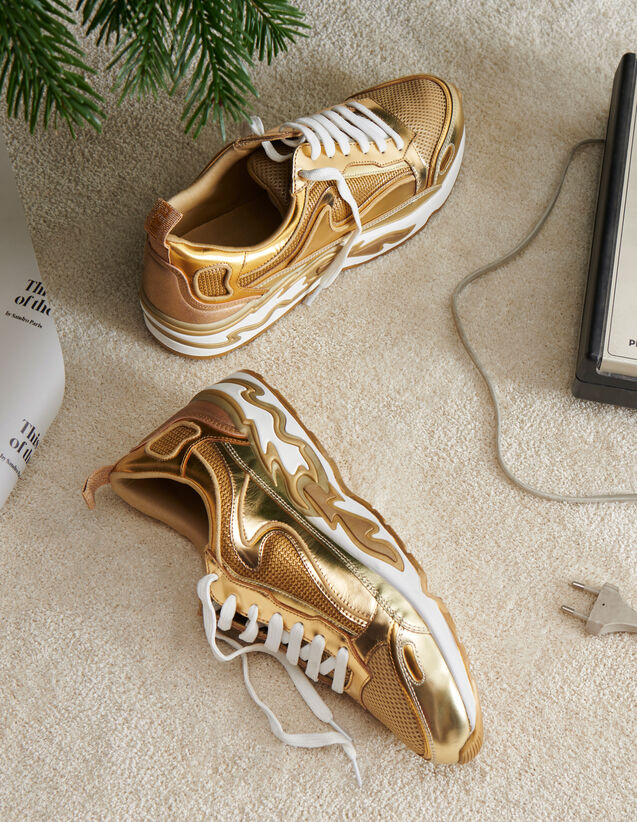 Basket Flame : Must-Have couleur Full Gold