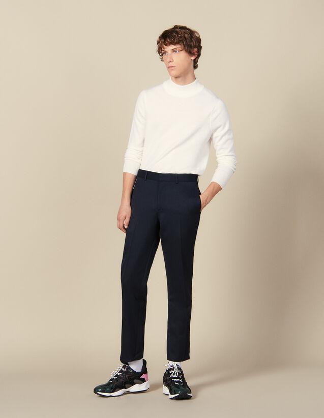Pantalon Classique : Collection Hiver couleur Marine