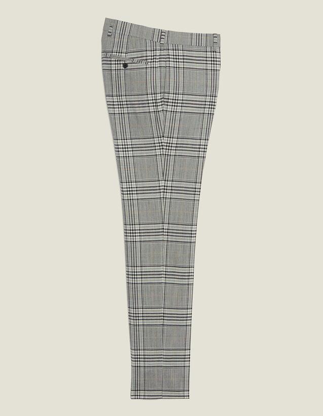 Pantalon De Costume Classique : Costumes & Smokings couleur Gris
