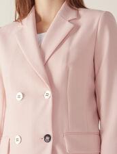 Veste De Tailleur Assortie : Blousons & Vestes couleur Rose