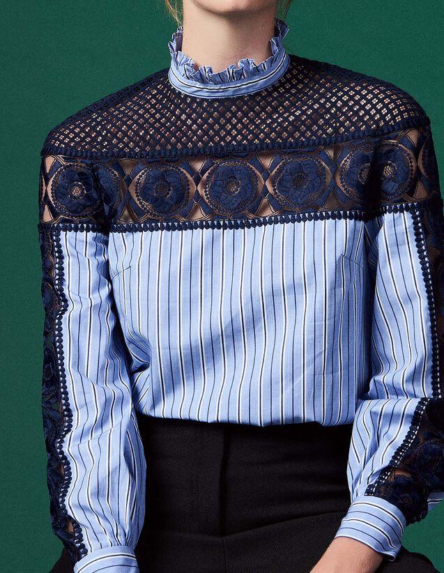 Tops   Chemises   nos tops et chemises   Sandro Femme Paris 95c8465df2e