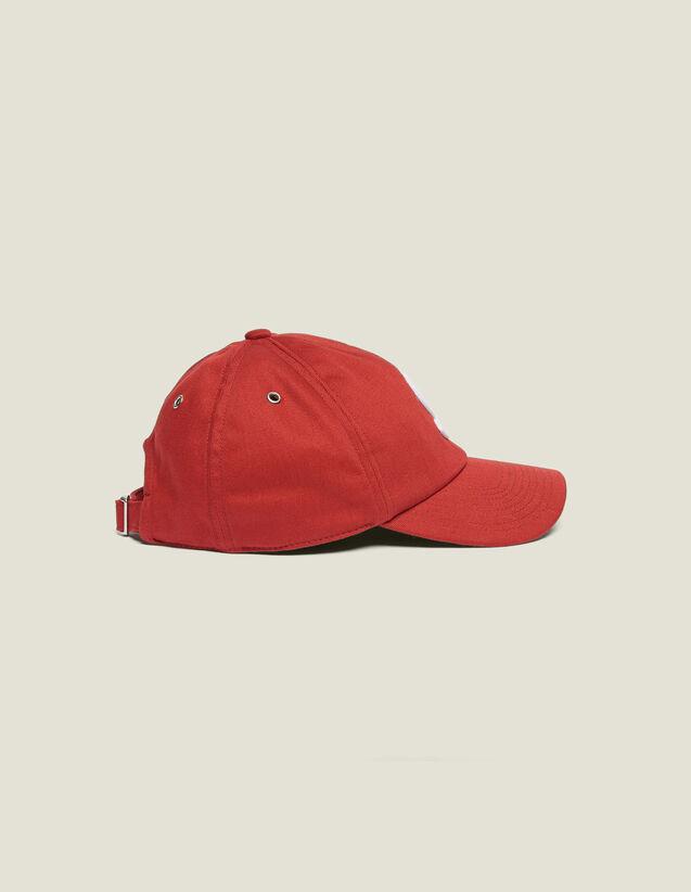 Casquette À Patch S : Casquettes couleur Rouge