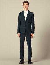 Veste de costume : Collection Hiver couleur Vert foncé