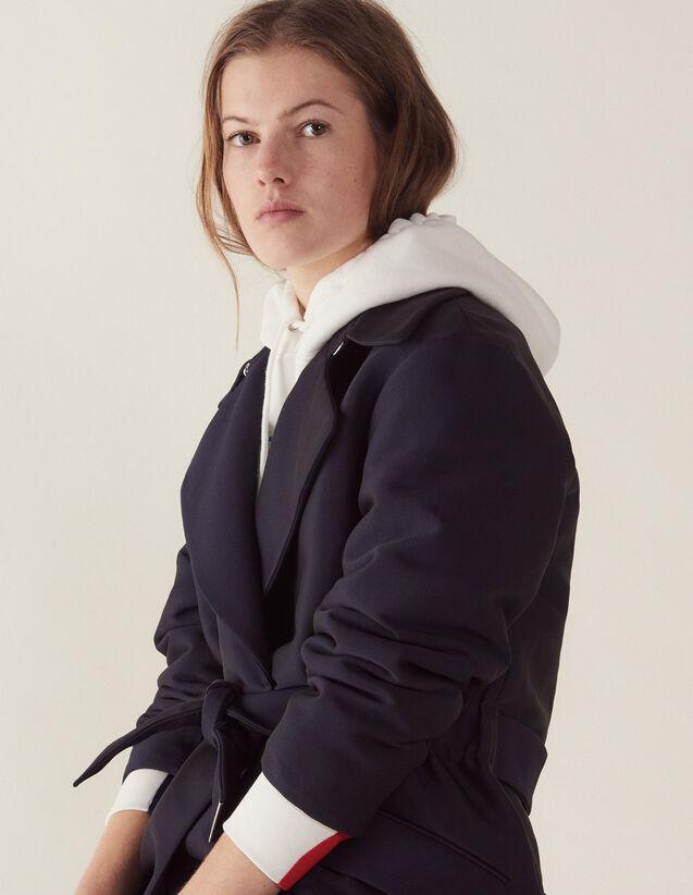 Manteau Esprit Trench : Manteaux couleur Marine