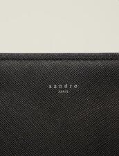 Briefcase En Cuir Saffiano : Briefcases couleur Noir