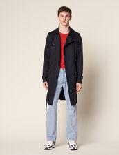 Trench Coat Ceinturé : Trenchs & Manteaux couleur Beige