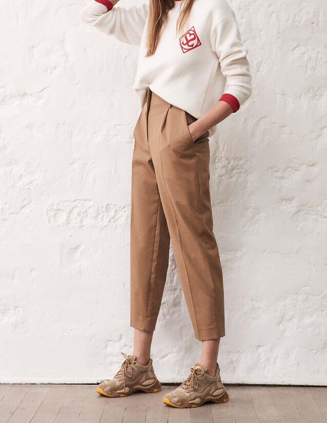 Pantalons Femme   nos coupes de pantalons chic et tendance   Sandro ... ec5e6e04804d