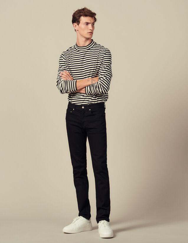 Jean slim : Jeans couleur Black - Denim