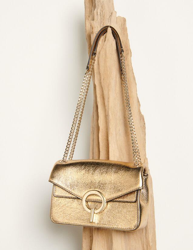 Sac Yza petit modèle full gold : Toute la collection Hiver couleur Full Gold