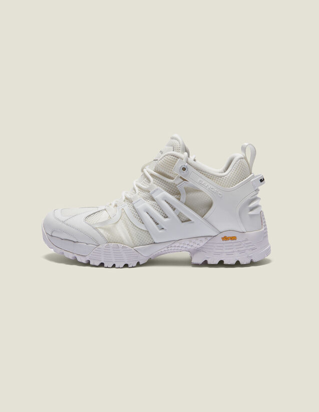Hiking Shoes : Chaussures couleur Blanc