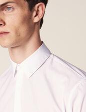 Chemise En Coton : Chemises couleur Blanc