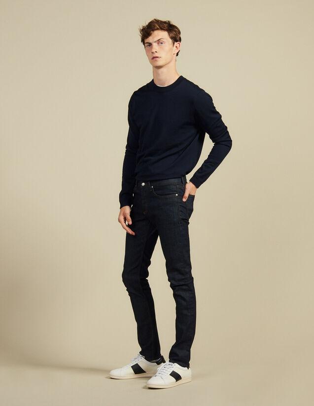 Jean brut - Coupe étroite : Jeans couleur Brut - Denim