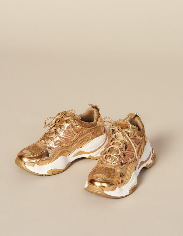Baskets Astro : Toutes les Chaussures couleur Full Gold