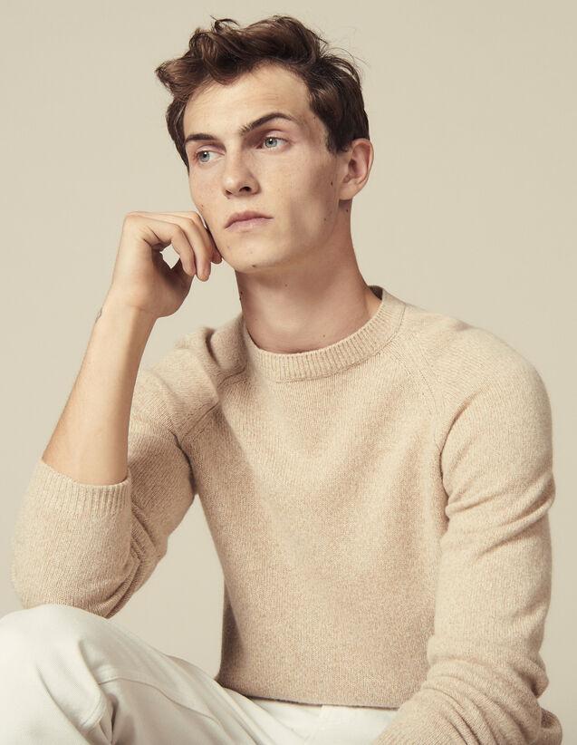 Pull Raglan Chiné : Pulls & Cardigans couleur Camel