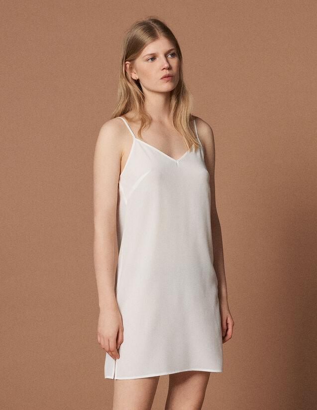 Fond De Robe : Sous-robes & Tops couleur Ecru