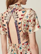 Robe Chemise Imprimée, Ouverture Au Dos : Robes couleur Multicolore