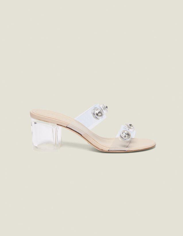 Mules À Brides En Pvc : Toutes les Chaussures couleur Transparent