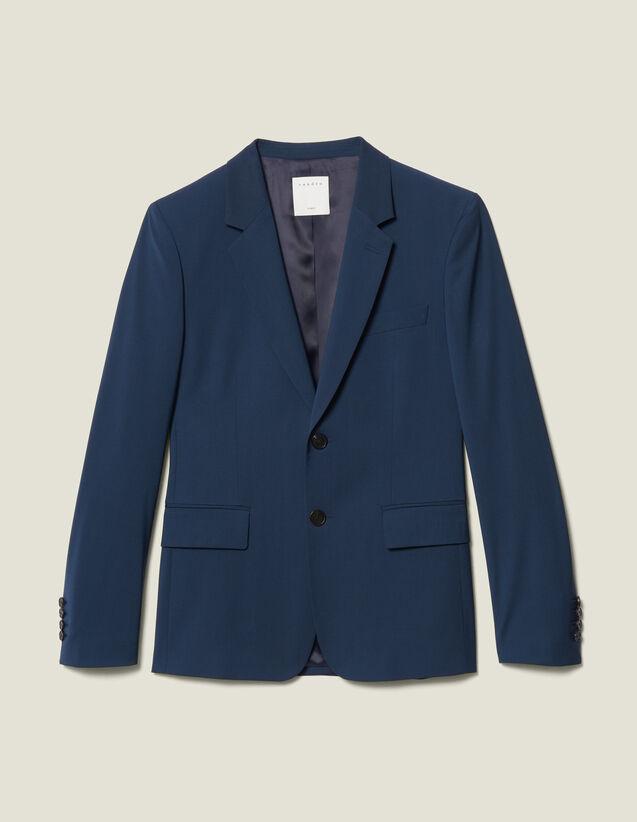 Veste De Costume Classique Super 110 : Nouvelle Collection couleur Pétrole