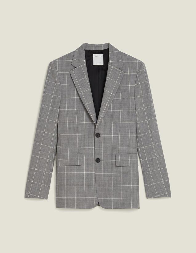 Veste De Costume Classique Super 120 : Costumes & Smokings couleur Gris clair