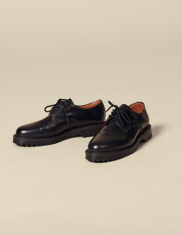 Derby à crampons : Chaussures couleur Noir