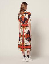 Robe Chemise En Imprimé Foulard : Sélection Last Chance couleur Multicolore